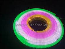 20mX High quality WS2813 RGB  dream color flexib neon LED pixel light for decoration  60/30LED/m, 5m/Roll free shipping