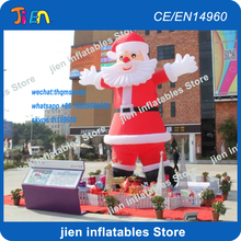 free air shipping20ft/6m giant x-mas inflatable santa claus,inflatable old man,christmas decoration inflatable father(China)