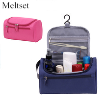 Waterproof Cosmetic Bags Travel Portable Wash Toilet Toiletry Bag Hanging Sundry Underwear Makeup Organizer(China)