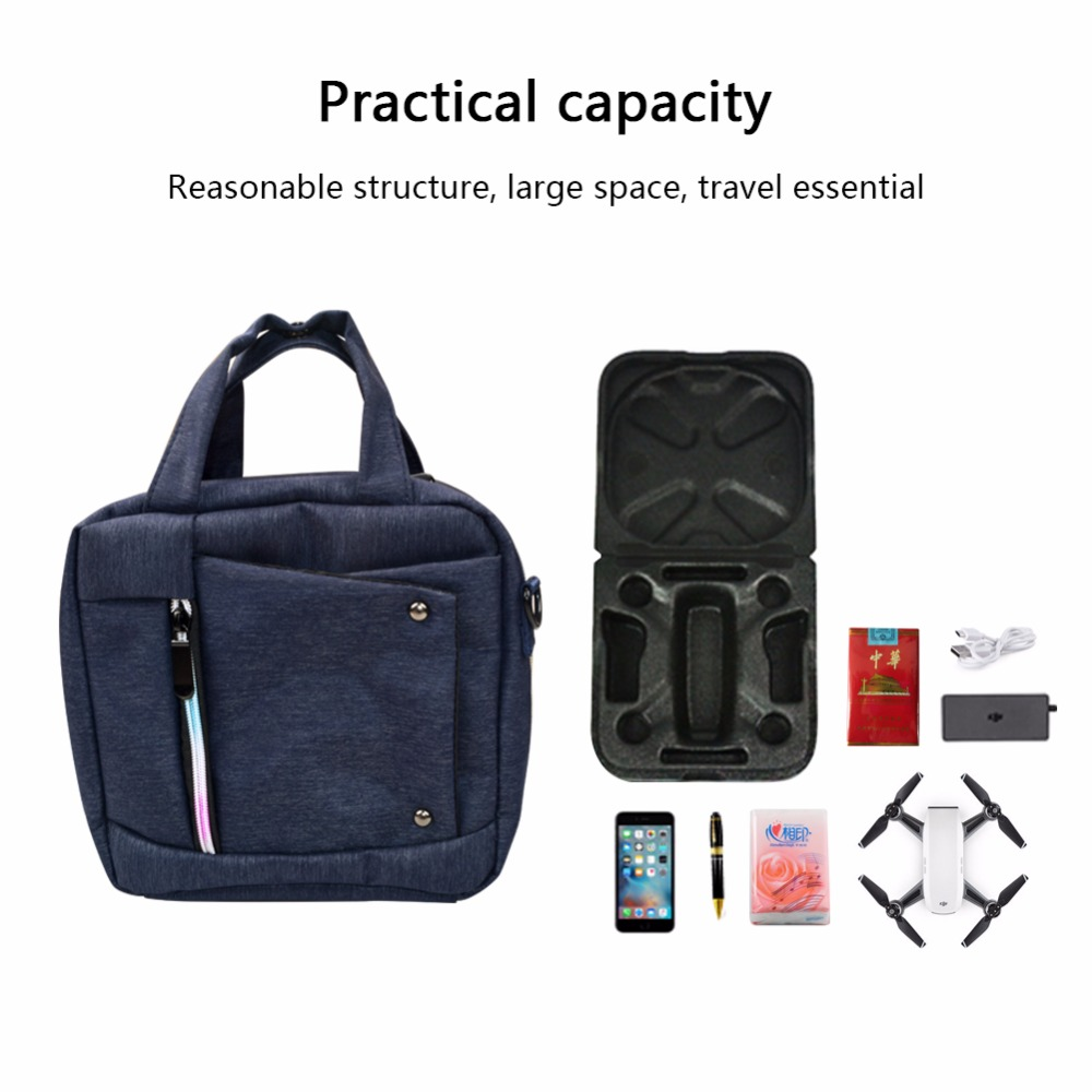 YAGO 2017 NEW DJI SPARK drone bag dji saprk fashion handbag shoulder bag for dji spark portable case Freeshipping