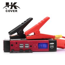 60C Discharge Car Jump Starter Factory 18000mAh Starting Power Bank 12V Diesel Auto Lighter Battery Portable Pack Booster Device