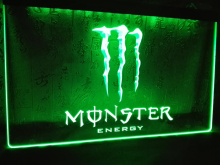 LE207- Energy Drink    LED Neon Light Sign  home decor  crafts