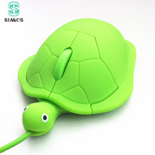 SIANCS 2017 Mini cute kawaii Wired mouse 2.0 usb 3D Tortoise Animal mouse PC computer gamer mouse lovely turtle funny gift