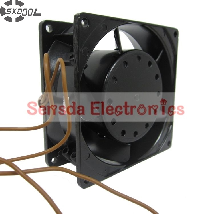 SXDOOL 3.5E-230HB 230V high temperature 92*92*38mm case cooling fan<br>
