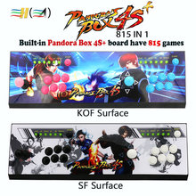 Built-in pandora box 4S+ 815 in 1 games arcade joystick buttons usb control console kit game consoles to tv pc / x-box 360 / ps3