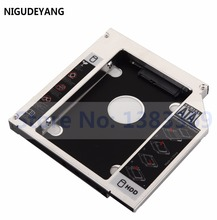 NIGUDEYANG 2nd 12.7mm SATA HDD SSD Hard Disk Drive Caddy Adapter for ASUS G75 G75vw-bbk5 Replace laptop Optical Drive