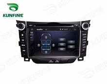 Quad Core 1024*600 Android 5.1 Car DVD GPS Navigation Player Car Stereo for Hyundai I30 2011-2013 Radio 3G Wifi Bluetooth(China)
