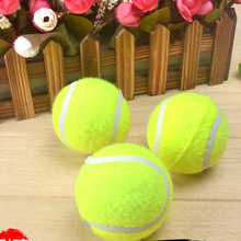 Elastic small dog Tennis rubber ball play toys chihuahua pet cat dog puppy teeth cleaning chew toy dog interactive training toy