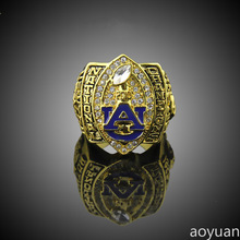 aoyuan Championship rings,2010 Auburn Tigers Football National Championship Starting Player's Rings, sports fans rings, men ring