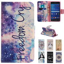 Cute Cartoon Love Perfume Bottle Wallet Leather Flip Fundas Brand Case For Samsung Galaxy Grand Prime G530 G531 G531H Back Cover(China)