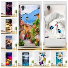 Buy Soft Silicone Plastic Phone Case Sony Xperia L1 Sony L1 G3311 G3312 G3313 Sony Xperia E6 Cover Skin Cases Sony L1 L 1 for $1.05 in AliExpress store