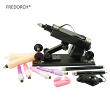 Buy FREDORCH sex machine women 6 dildos+2 extension rods automatic retractable love machine Female Masturbation Pumping Gun