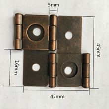 45*42mm 10pcs double bearing screen hinges furniture hinges hardware accessories wholesale