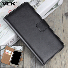 VCK For Microsoft Nokia Lumia 925 630 1020 520 820 920 930 530 830 640 540 950 550 Wallet Flip Case Genuine Leather Phone Cover