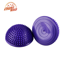 Yoga Half Ball Fitness Equipment Kids Elder Durian Massage Mat Exercise Balance Point Gym Yoga Pilates Ball(China)