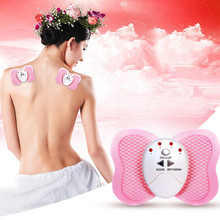 Digital Therapy Full Body Machine Butterfly Design Losing Weight Burning Fat Slimming Body Massager Electric Vibration Relax(China)
