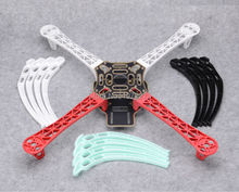 F450 Quadcopter Kit Frame PCB Arms w/ Black / Blue / White Landing Gear Skid for F450 F550 SK480 FPV(China)