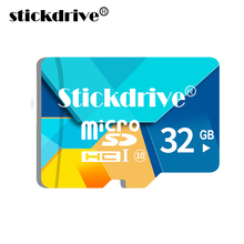 2017 Best StickDrive REAL Full Memory card  64GB Micro SD card 32GB 16GB 8GB TF card Micro sd Flash memory  SDHC SDXC cards