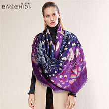 Luxury brand, scarfs fashionable,Autumn & winter 100% Wool Scarf, Elegant Women Scarves & Wraps ,christmas and Birthday Gifts