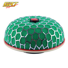Universal Air Filter cleaner Intake Kit Super Power Flow 100MM Green AY For VW GOLF GTI MK3 VR6 2.8 V6 94-98 N-AF002A