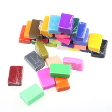 32pcs DIY Malleable Fimo Polymer Modelling Soft Clay Blocks Plasticine High Quality(China)