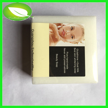 100g handmade soap thailand natural handmade organic soap goat milk with Glutathione skin whitening soap(China)