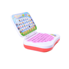 Children Learning Machines Toys Laptop Computer Language Learning Educational Tablets Electronic Notebook Kids Study Game Pad(China)