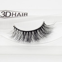Visofree 3D Mink Eyelashes Upper Lashes 100% Real Mink Strip Eyelashes Handmade Crossing Mink Eye Lashes Extension A12