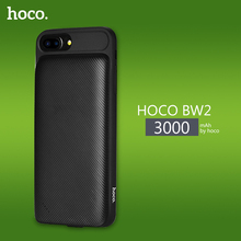HOCO BW2 Power Bank 3000mAh Protective Case Cover PowerBank Backup External Lithium Polymer Battery Power for iPhone 6/6S/7(China)