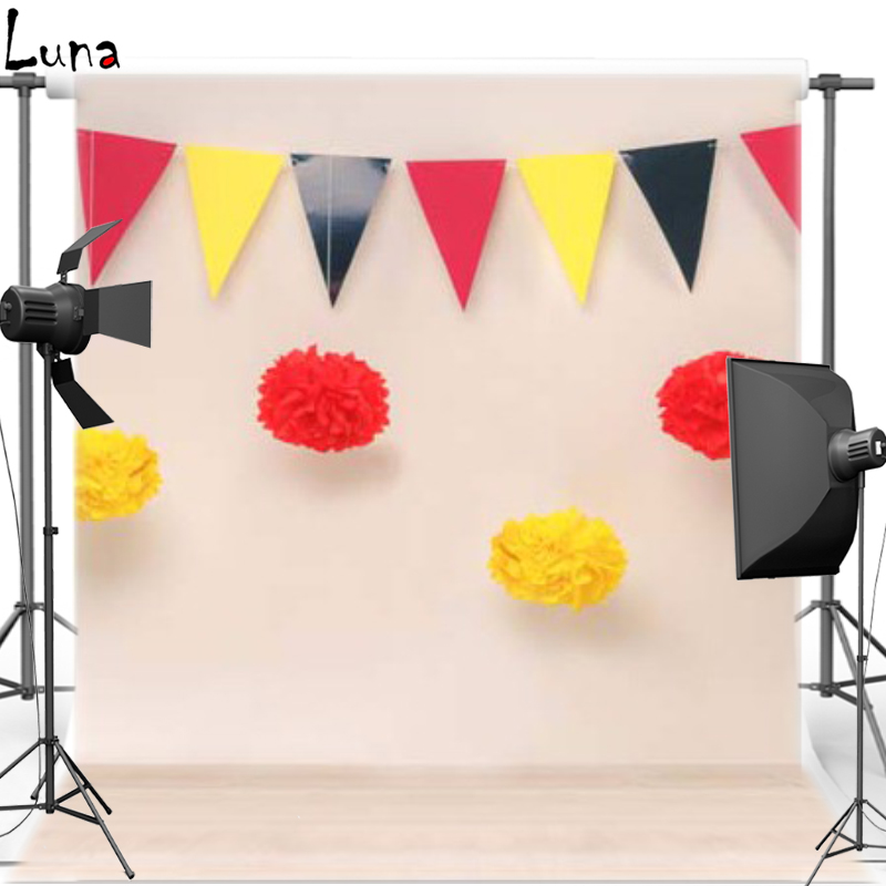 Birthday Party Vinyl Photography Background For Newborn Flag Oxford Backdrop For Children photo studio 1213<br><br>Aliexpress