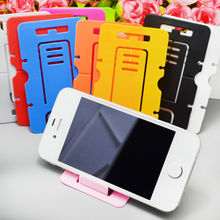 Universal Foldable Mobile Phone Holder For Smart Phone Nokia LG HTC Huawei Samsung iPhone Mobile Phone Card Stand Holder