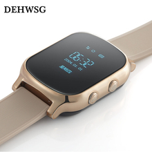 DEHWSG 2017 GPS Tracker Smart baby watch T58 with Google map SOS Remote Monitor SIM slot Anti-Lost Smartwatch For iOS Android