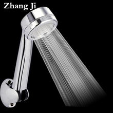 Hot Patented Efficient High Pressure Shower Head Water Saving Massage Nozzle Rainfall Bathroom Shower Head Handheld ZJ008(China)