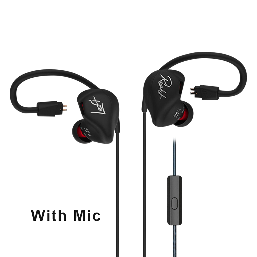 Professional KZ HIFI Headphones With Dual Pin Cable Super Bass Performance Earphone With MIC Portable Headset For Xiaomi/iPhone<br><br>Aliexpress
