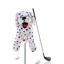 Dust-proof Golf Bar Head Protection Covers Cute Cartoon Dog /Rose /Spotted Dog/Fish Shape Waterproof Golf Club Headcover Plush