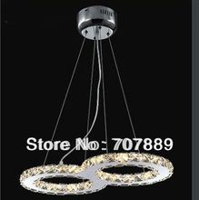 Free shipping Modern LED crystal chandelier,Dining room pendant lamp, Contemporary lighting fixture PL309