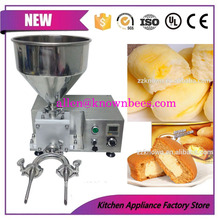 Small quantitative bread injection cake cream liquid filling machine with different heads by DHL(China)