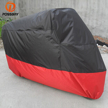 POSSBAY All Size Motorcycle Cover Outdoor Rain Dust UV Prevent Bask Waterproof Bike Scooter Covering For Harley Honda Yamaha KTM(China)