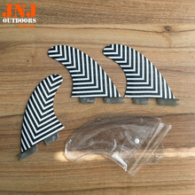 new design 100% fitted standard FCS II M G5 surfboard fins surf table fcs 2 fins with honeycomb(China)