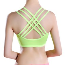 Women  Bra For  Padded  Shakeproof Underwear Push Up Seamless Fitness Top Bras For Summer Chic
