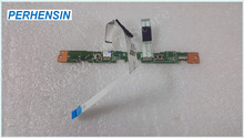 Genuine laptop FOR HP FOR 15-F SERIES TOUCHPAD BUTTON BOARD WITH RIBBON 732078-001 DAU83TB16E0(China)