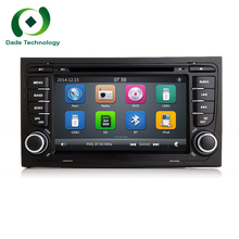 "2 Din 7""Capacitive Touch Scree Car DVD Player GPS Radio For A4/S4/RS4/8E/8F/B9/B7 Two din car GPS Navigation stereo Audio Video"