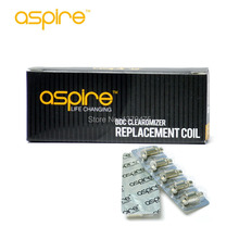 Fast Delivery 50pcs/lot 100% Original Aspire BDC Coil Heads Aspire BDC Dual Coil Aspire Atomizer Core Best Atomizer Wire
