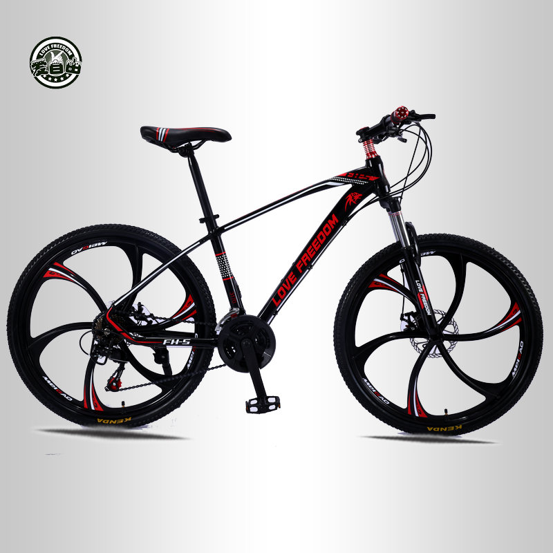 Bike Bicycles Bicicleta Mountain-Bike Double-Disc-Brakes 21-Speed Love Freedom 26inch title=