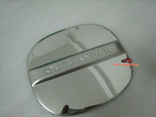 Chrome fuel door gas cover cap For Mitsubishi Outlander 2007-2012