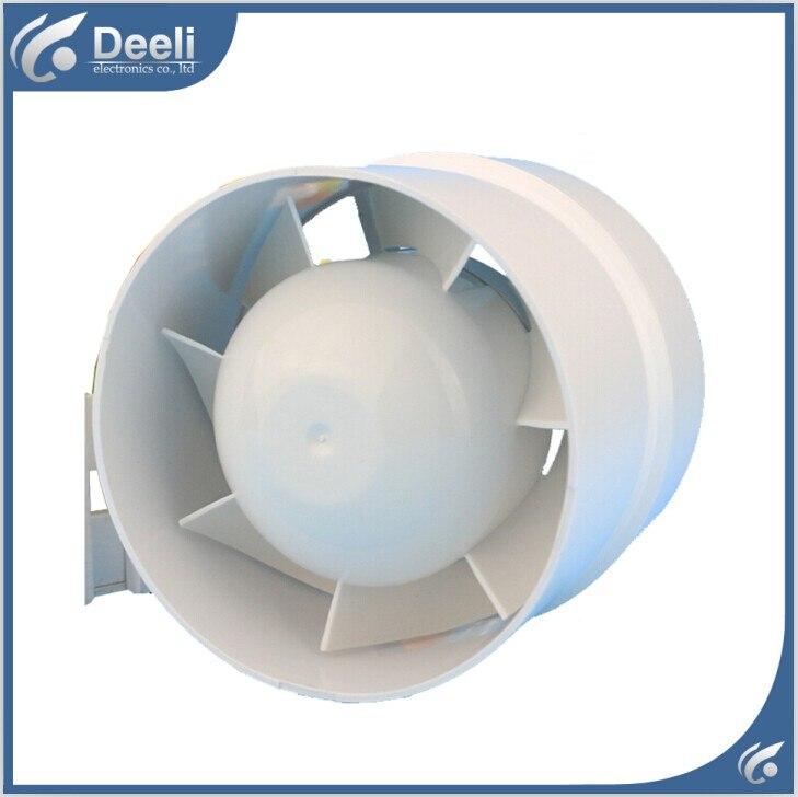 good working new for catheter fan fan mute round fan 4 inch bathroom exhaust fan 100/110mm<br>
