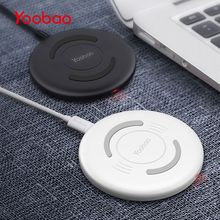 Yoobao YBD1 Wireless Charger Fast Charging Pad Wireless Power Charging for Iphone X 8 Samsung LG Nokia Moto HTC Sony Google(China)