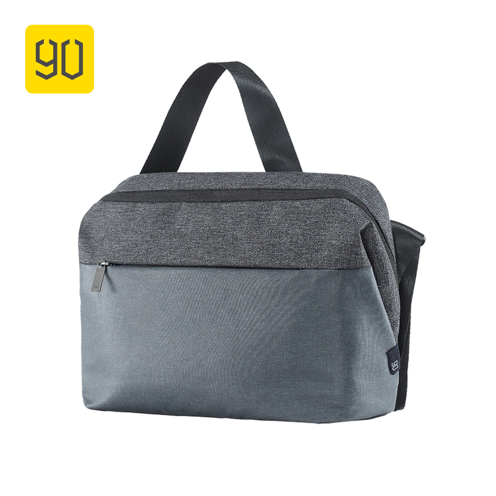 Xiaomi 90 Fun City Simple Messenger Bag Large Capacity Casual Style Bag Water Repellent Shoulder Casual Lightweight School Bag<br>