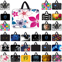 Viviraton Computer Neoprene Bag 10 inch 12 inch,13 inch,14 ,15 17 Inch Notbook Laptop Bags Handle Cases Lenovo Acer Aspire One HP - Lady Deng Store store