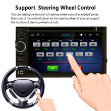 6.5 Inch Touch HD Screen  Car DVD Multimedia Player With Radio Receiver Bluetooth And Steering Wheel Control
